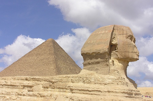 The Sphinx and Great Pyramd of Giza Photo by Sam and Ian on Flickr