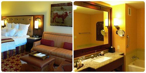 Bedroom at JW Marriott San Antonio Hill Country Resort, Texas Photo: Heatheronhertravels.com