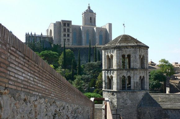 View of the Cathedral in Girona, Costa Brava, Spain Photo: Heatheronhertravels.com