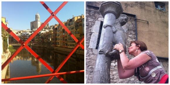 Girona in Spain Photo: Heatheronhertravels.com