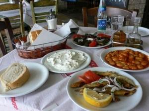 Mezze lunch in Zante town Photo: Heatheronhertravels.com