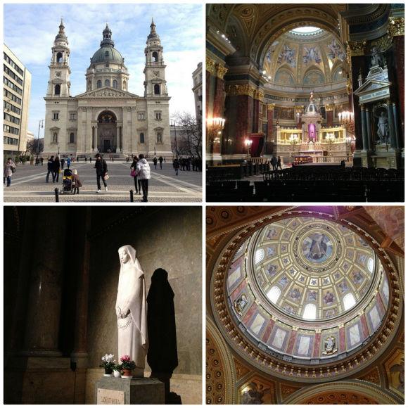 St Stephen's Basilica, Budapest Photo: Heatheronhertravels.com