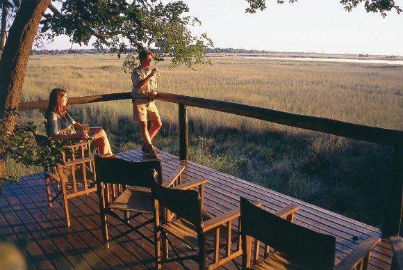 Camp Moremi, Botswana Photo: http://www.mahlatini.com/
