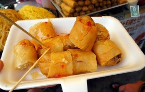 Spicy spring rolls Photo: Agness Walewinder