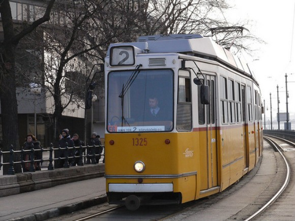 Tram in Budapest Photo: Heatheronhertravels.com