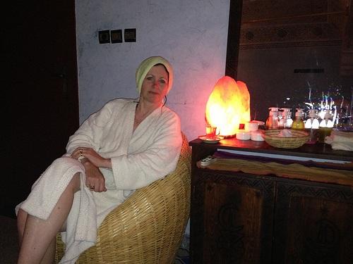 After visiting the Moroccan Hammam Agadir Photo: Heatheronhertravels.com