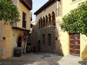 Poble Espanyol de Montjuic Photo: gadgetdan of Flickr