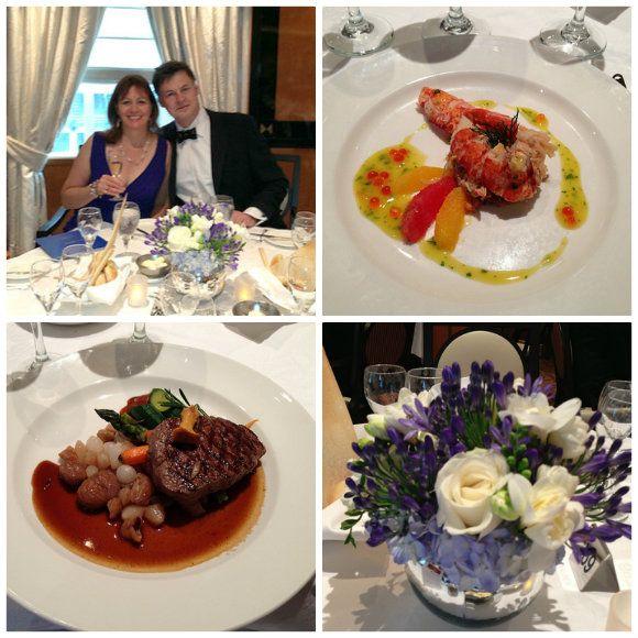 Gala Dinner on the Royal Princess Photo: Heatheronhertravels.com