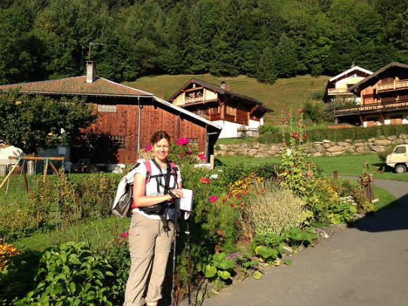 Les Hoches near Contamines Photo: Heatheronhertravels.com