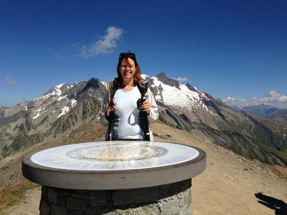 Tete Nord de Fours on the Tour de Mont Blanc Photo: Heatheronhertravels.com
