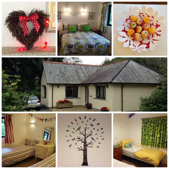 """Our cottage """"Cherry"""" at Bosinver Farm Cottages in Cornwall Photo: Heatheronhertravels.com"""