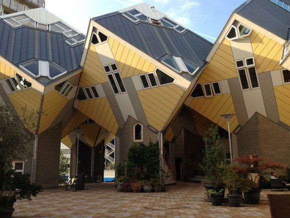 Rotterdam Cube houses - what to do in Rotterdam in one day Photo: Heatheronhertravels.com