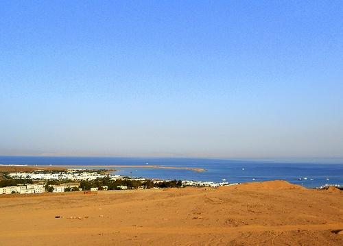 Into the desert from Dahab Photo: Mina Mahrous