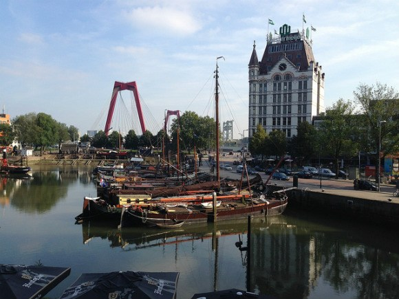 The Rotterdam architecture tour - What to do in Rotterdam in one day Photo: Heatheronhertravels.com