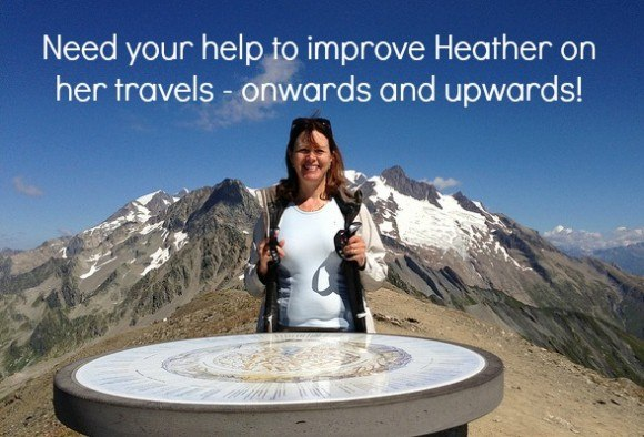 Need your help to improve Heather on her travels