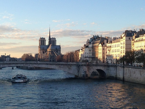 Notre Dame on the Seine in Paris Photo: Heatheronhertravels.com