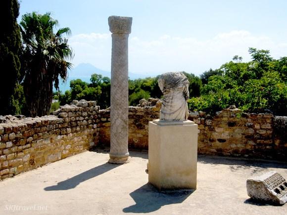 Visiting the Roman city of Carthage Photo: SKJ Travel