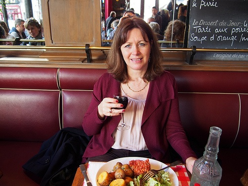 Lunch at Le Chat Bossu at Marche d'Aligre in Paris Photo: Heatheronhertravels.com