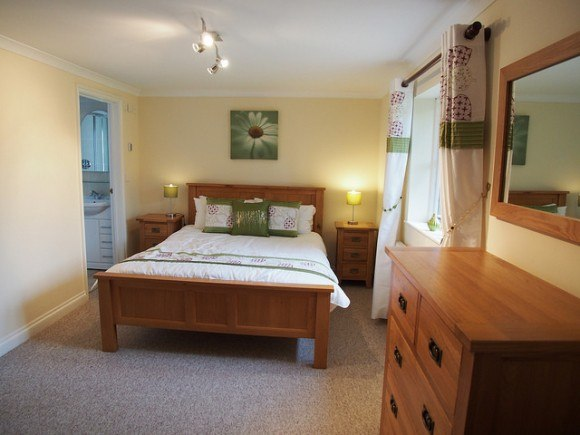 Bedroom at Beech Cottage, Penhaven Country Cottages in Devon