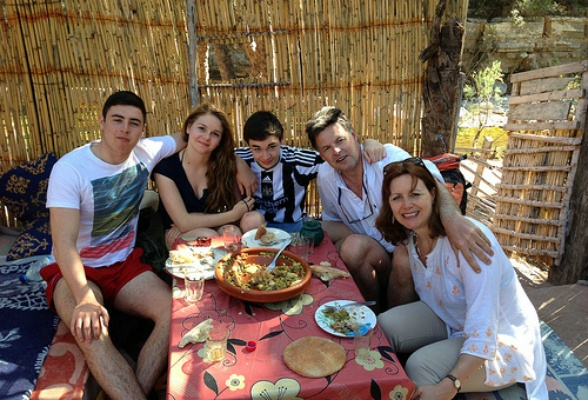 Eating Cous Cous at Paradise Valley in Morocco Photo: Heatheronhertravels.com
