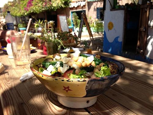 Chickpea Salad in Morocco Photo: Heatheronhertravels.com