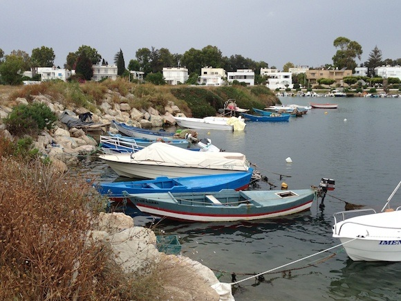 Boats in the Punic Port at Carthage Photo: Heatheronhertravels.com