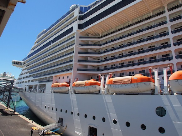All aboard at Barcelona - Day 1 of my MSC Mediterranean ...