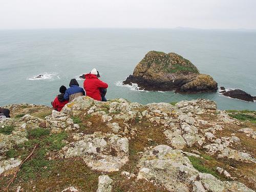 Garland Stone on Skomer island, Wales Photo: Heatheronhertravels.com