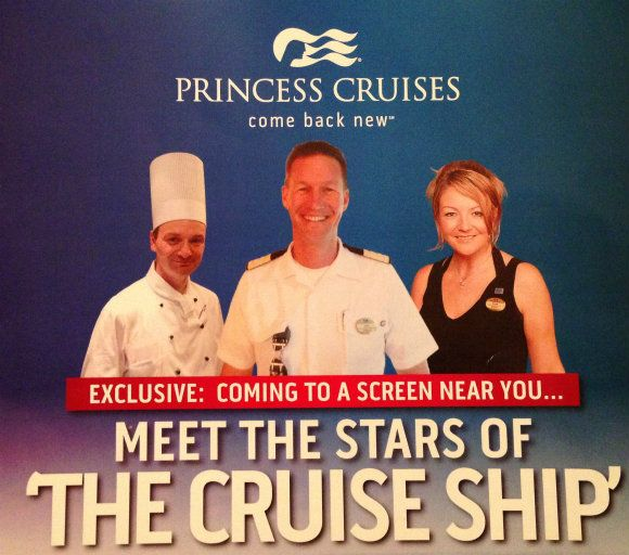 """Royal Princess to star in new TV series """"The Cruise Ship"""""""
