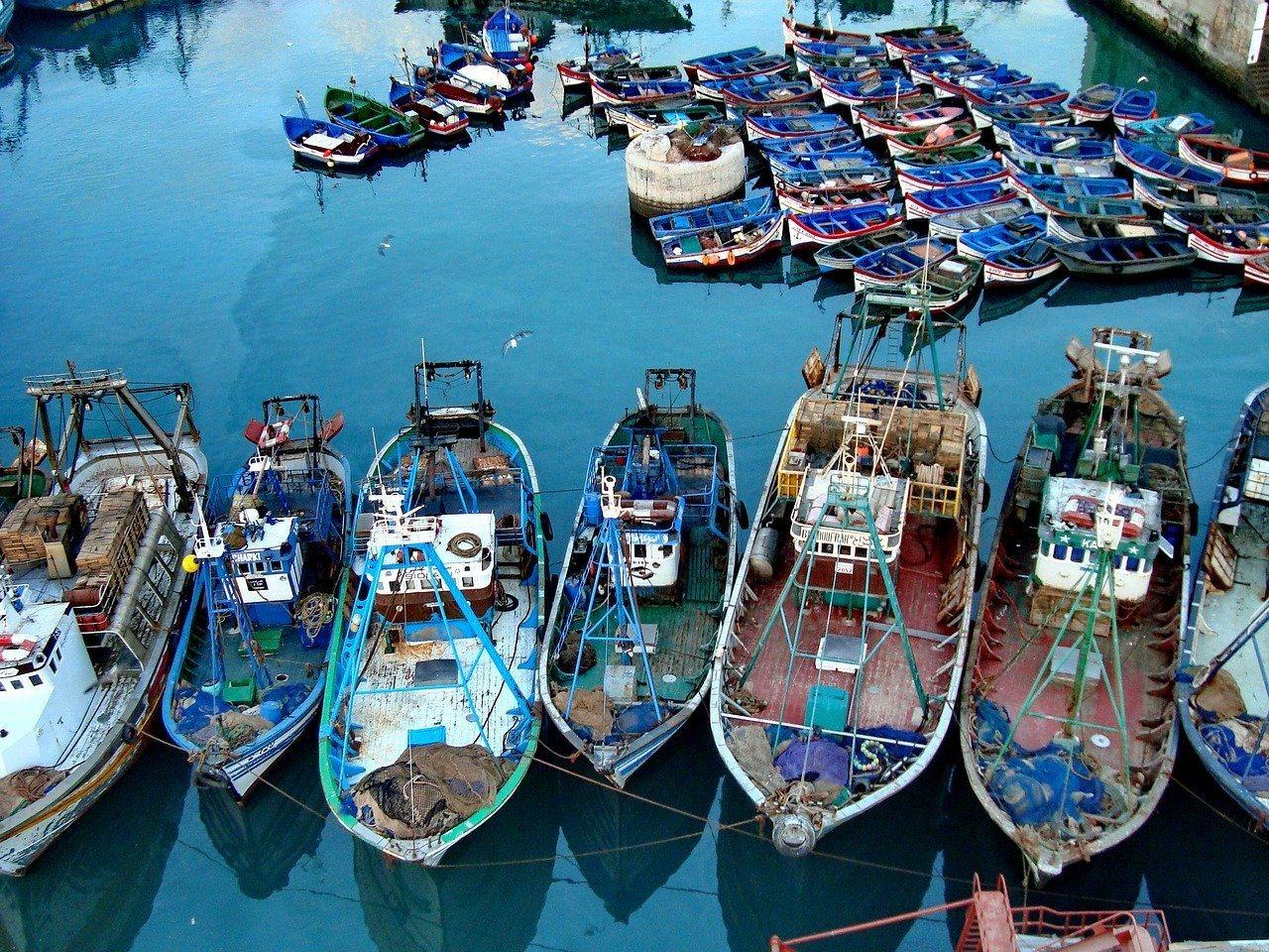 Casablanca boats Morocco Photo Chengtzf Pixabay