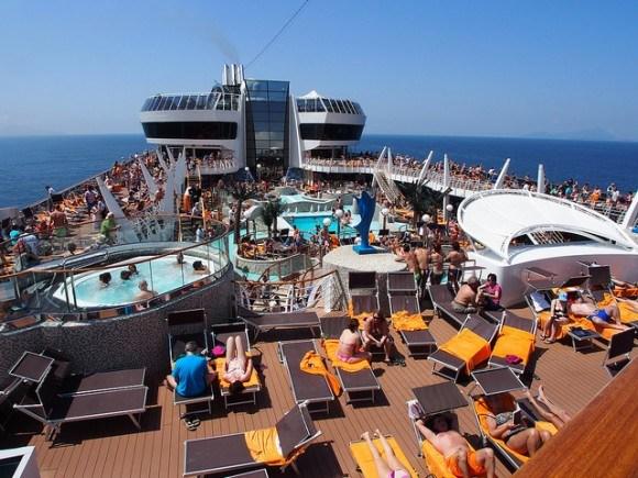 Aqua Park on MSC Splendida with MSC Cruises