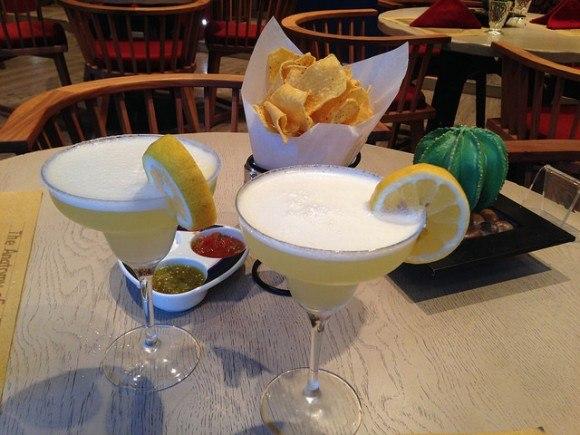 Dinner in the Santa Fe restaurant on board MSC Splendida