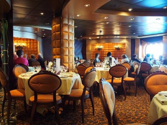 La Reggia restaurant on MSC Splendida with MSC Cruises