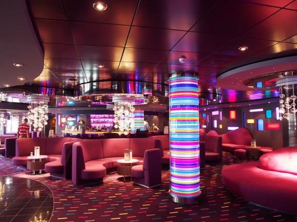 Purple Jazz Bar of MSC Splendida with MSC Cruises