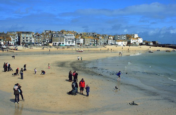 The beach at St Ives Photo: Uncle Bucko on Flickr