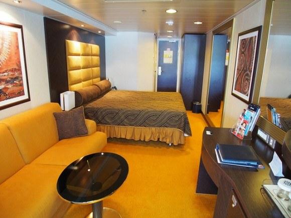 Stateroom 13140 on board MSC Splendida with MSC Cruises