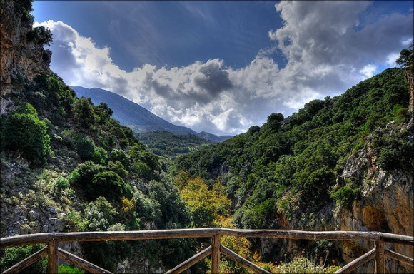 View over the beautiful valley Greek near Patsos in Crete Photo: Thomas Munter on Flickr