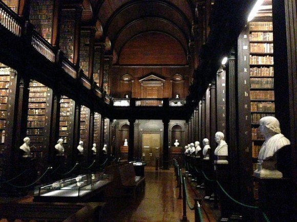 The Old Library at Trinity College, Dublin Photo: Heatheronhertravels.com