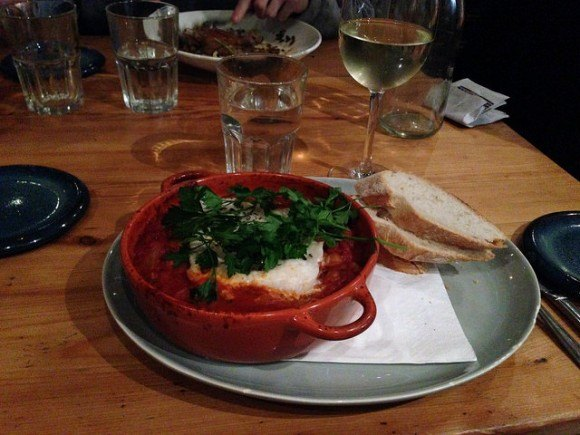 Cod, chickpea and chorizo cassoulet at Fallon and Byrne in Dublin Photo: Heatheronhertravels.com
