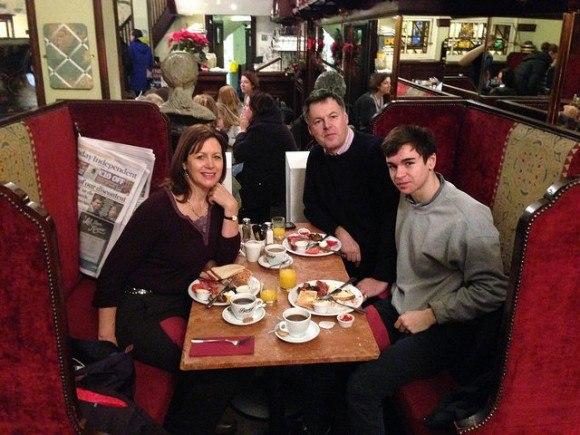 Brunch at Bewley's Oriental Cafe in Dublin Photo: Heatheronhertravels.com