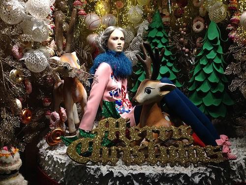 Merry Christmas from Brown Thomas in Dublin Photo: Heatheronhertravels.com