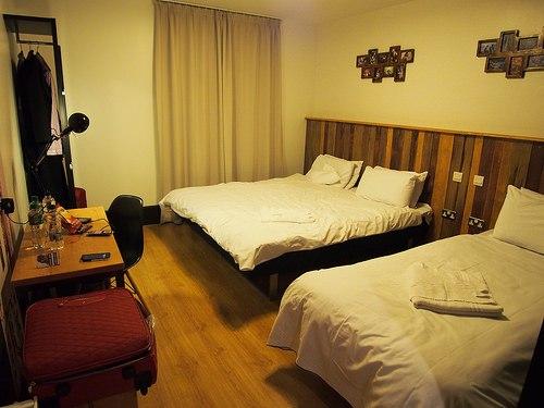 Family bedroom at Generator Hostel, Dublin