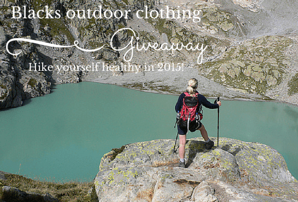Hike yourself healthy in 2015 + outdoor clothing giveaway