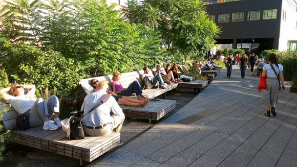 High line park in New York Photo: Karlis Dambrans on Flickr