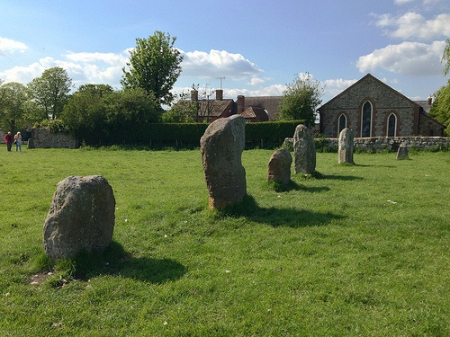 The standing stone in Avebury, Wiltshire