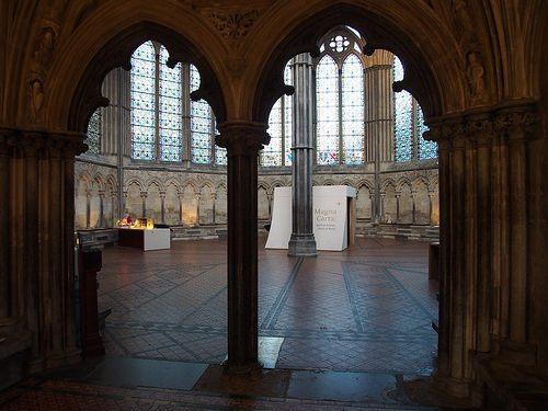 Magna Carta exhibition at Salisbury Cathedral Photo: Heatheronhertravels.com