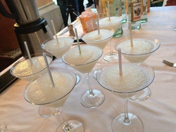 Daiquiri cocktails at Hotel Sant Pere del Bosc, Lloret de Mar Photo: Heatheronhertravels.com