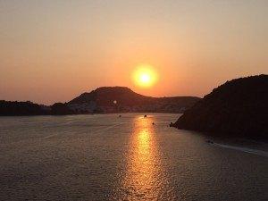 Sunset Over Patmos, Greece Photo: Heatheronhertravels.com