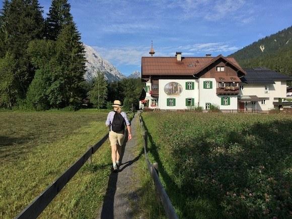 Walking through Kirchplatzl in Tirol, Austria Photo: Heatheronhertravels.com