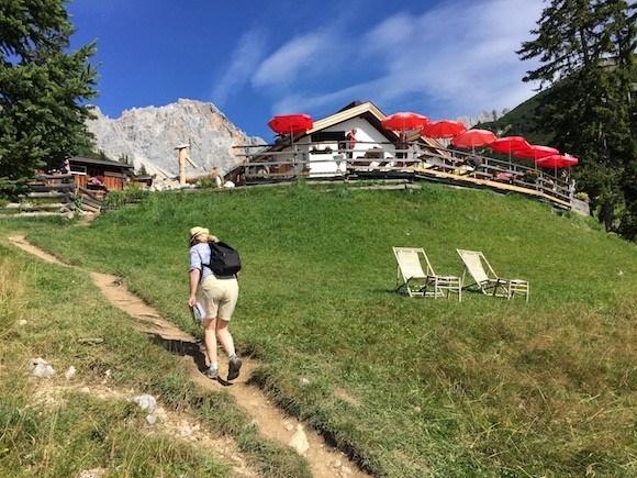Walking to Wettersteinhutte in the Gaistal Valley, Tirol, Austria Photo: Heatheronhertravels.com